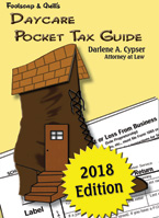 Daycare Pocket Tax Guide