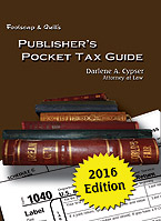 Publisher's Pocket Tax Guide