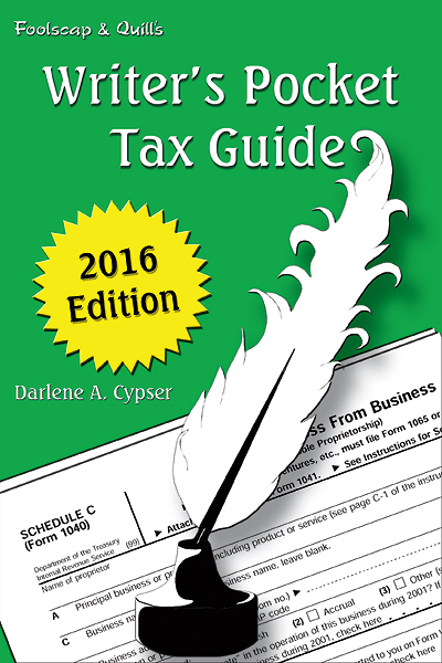 Writer's Pocket Tax Guide